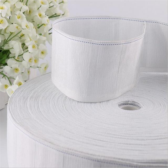 gordijnen accesoires wit gordijn doek tape trekkoord tape gordijn accessoires doek tape decoratieve accessoire voor gordijnen