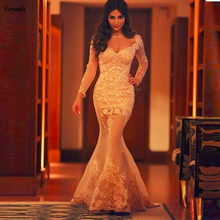 New Mermaid Evening Gowns Long vestido de festa longo robe de soiree Sweetheart Champagne Cheap Long Sleeve Prom Dresses пирантел сусп внутр 250мг 5мл 15мл