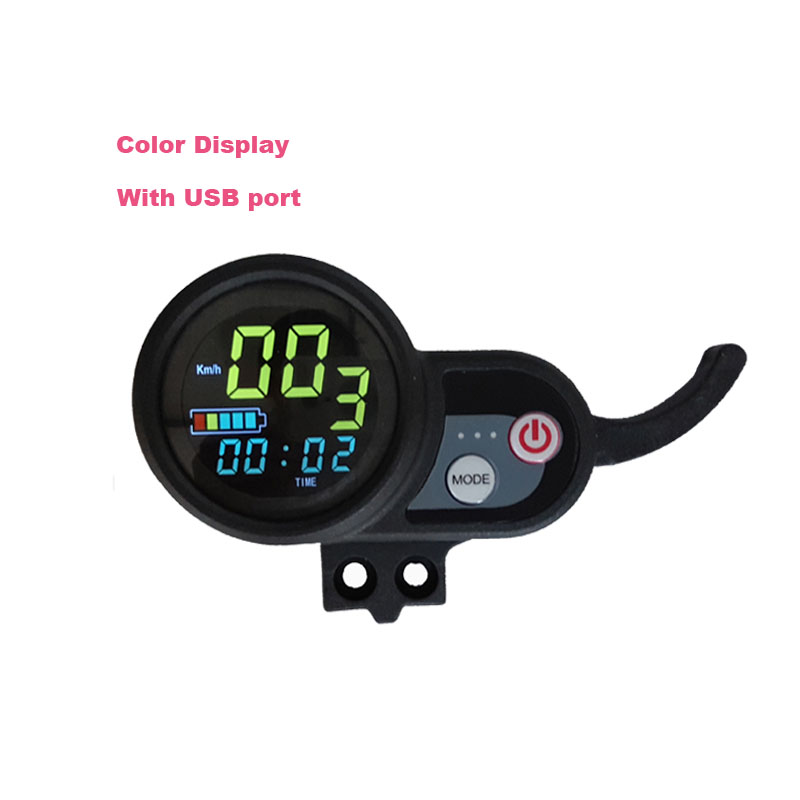 Electric Scooter Display Accelerator Electric Skateboard Accelerating Meter Color Screen Monitor Instrument For Electric Scooter