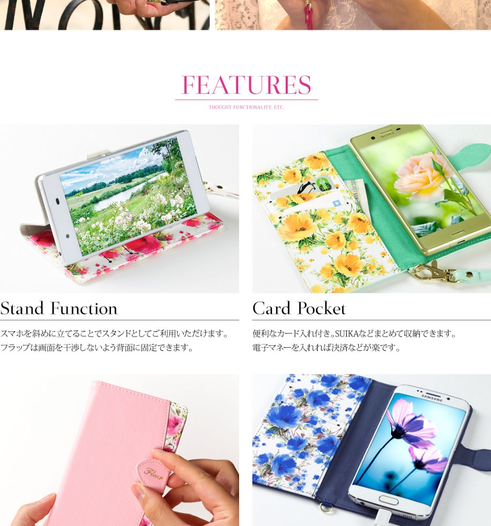 Universal Fashion Lovely Beautiful Leather Cover Case For Samsung Galaxy S3 Mini i8190 Galaxy S7 Galax Young For All Phones ...