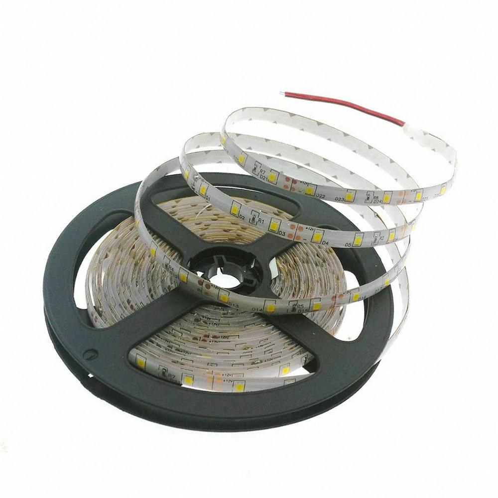 2835/3528 LED Strip 12V Fleksibel dekorasjonsbelysning 300LED Vanntett LED Tape RGB / Hvit / Varm Hvit / Blå / Grønn / Rød
