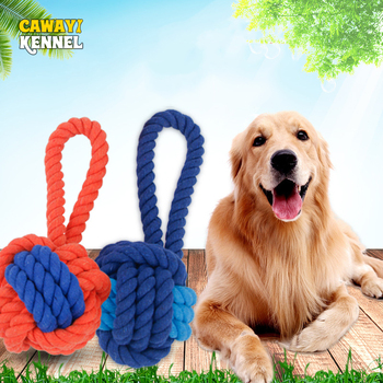 Plush Bite-resistant Knot Rope