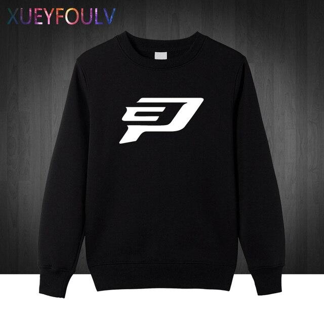Chris Paul Logo Men Sweatshirts Fashion Man Hoodies Cotton Pullover Free Shipping XF
