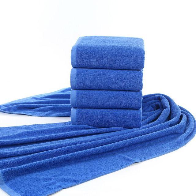 100% coton serviette de bain grande taille, 800g, 1 m * 2 m, logo ...