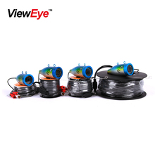 ViewEye Original Brand Underwater Ice Fishing Camera kit Video Fish finder HD 1000TVL With DVR IR LED Infrared lamp 15M cable