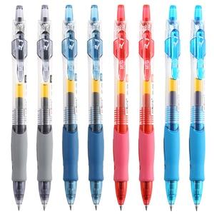 Image 3 - Ручка гелевая M & G NO.1 выдвижная, 0,5 мм, черная, синяя, красная