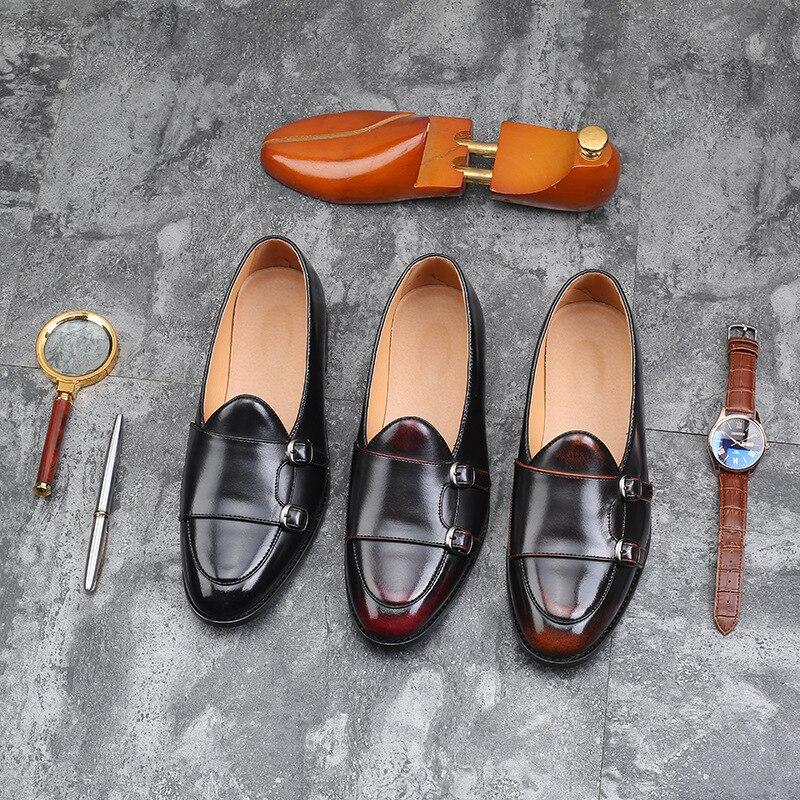 En De Mâle Gland Italien Confortable rouge Marque Chaussures D'été Design Noir Microfibre marron Hommes Mariage Luxe Cuir Mocassins tw0qw6d