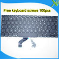 "5PCS---Brand New UK keyboard+100pcs keyboard screws For MacBook Pro Retina 13.3"" A1425 2012 Year"