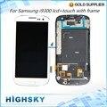 Dhl ems free testado exibição repair para samsung galaxy s3 LCD i9300 Com Tela de Toque Digitador + Montagem de Quadro de 10 pcs/lot