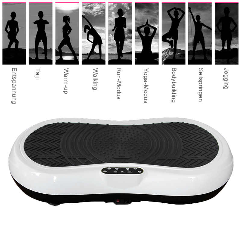 0cbb1cbdc20d7 Fat Burning Vibration Fitness Massager Vibrating Plate Body Shaper Weight  Loss Power Fit Crazy Slimming Device