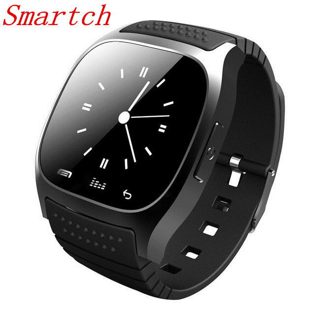 Smartch M26 Smartwatch M26 Bluetooth Smart Watch With LED Alitmeter Music Player Pedometer For Android Smart Phone