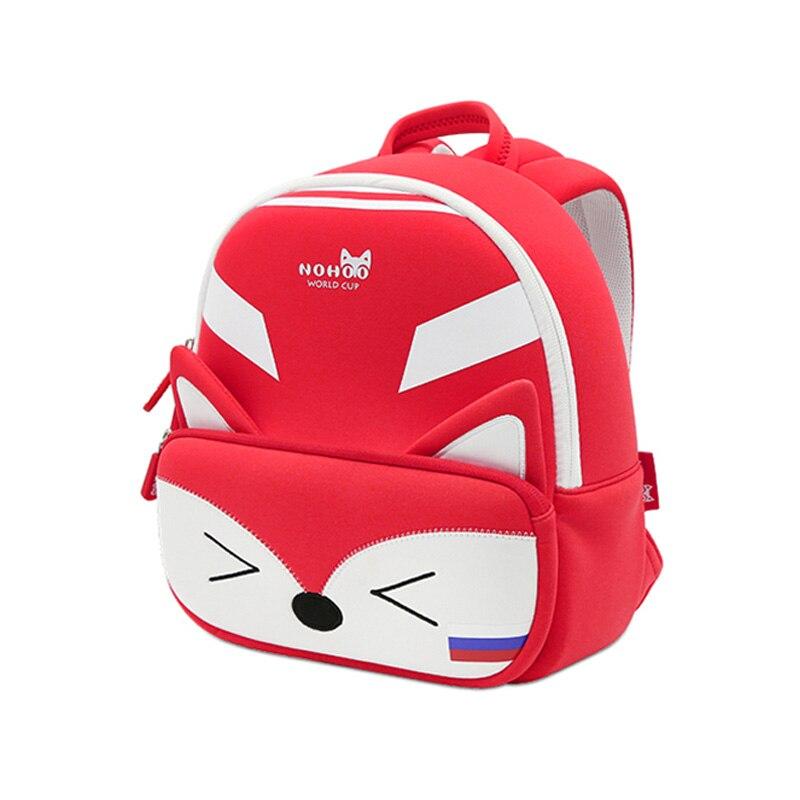nohoo 3d toddler animal backpack fox animal school bag for kids waterproof  backpack kindergarten girls for 2 7 years old ec0ef5bd6d7a2