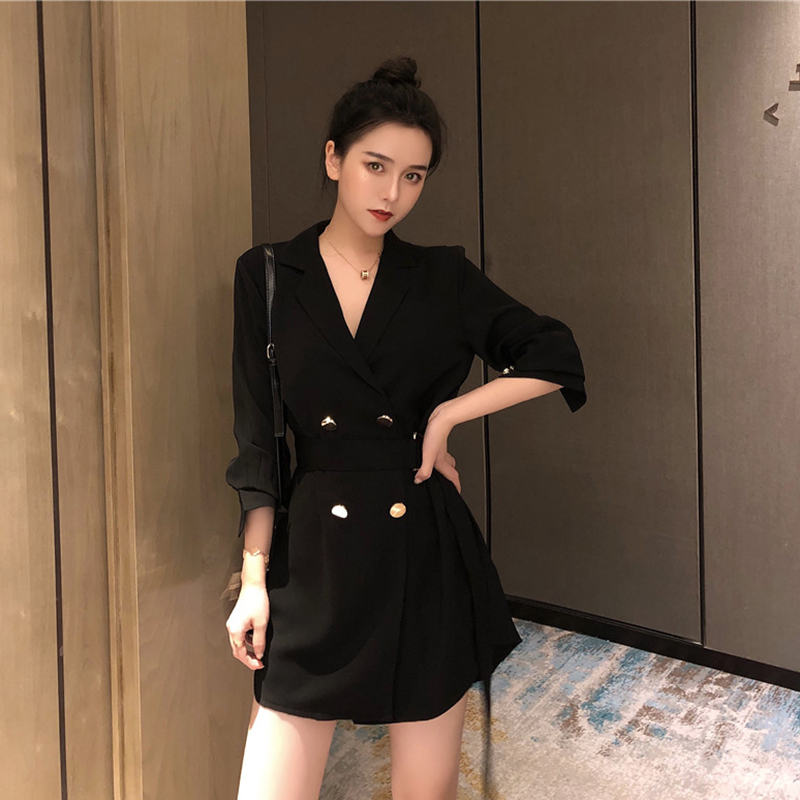 Cheap Wholesale 2019 New Spring Summer Autumn Hot Selling Women's Fashion Casual Sexy Dress MW103