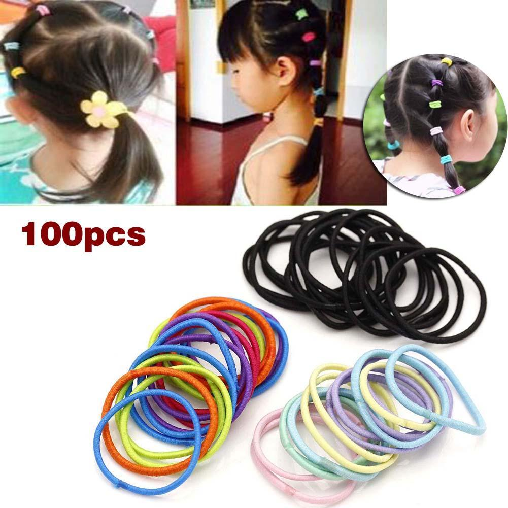 Creative Girls Elastic Bands Bow Knot Hair Tie Ropes Ponytail Women Hair Accessories Outstanding Features Men's Accessories Men's Headbands