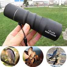 16X40 Zoom Lens Sports High Power Monocular Telescope For Hunting Camping Spotting Scope Hunting Scopes Binoculars(China)