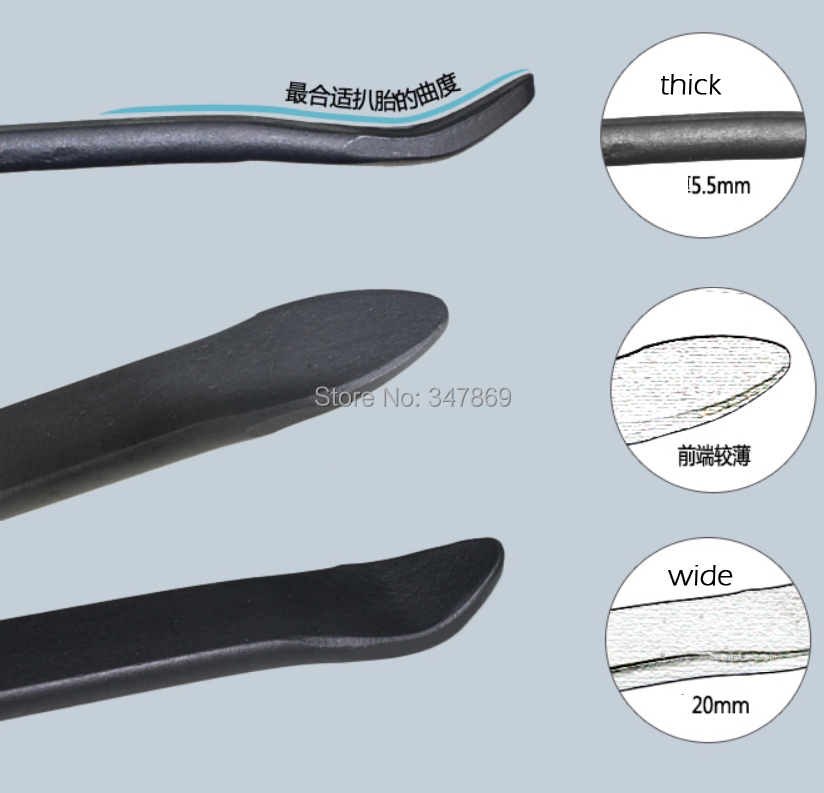 Motorcycle Atv Bicycle Scooter Tire Tool Iron Spoon Bar 2 Pack 30cm