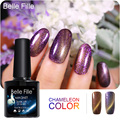Belle Fille UV Gel Nail  Cat Eyes Chameleon Magnetic Manicure Soak Off Varnish UV LED Nail Polish Gel Cat Color Gel Nail Polish