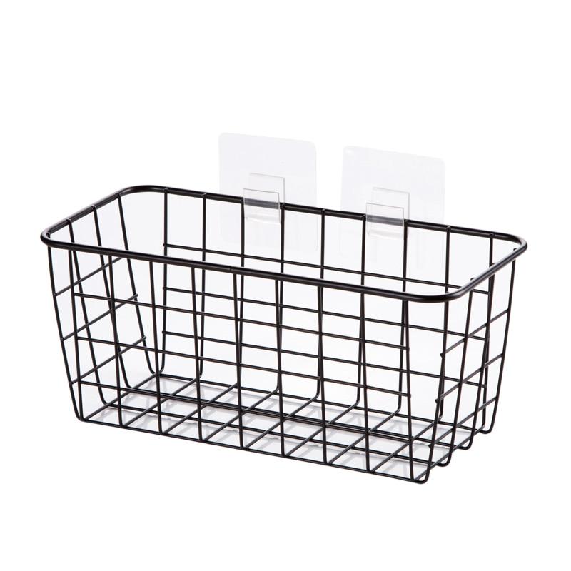 Kitchen Seasoning Hanging Basket Desktop Storage Basket Bathroom