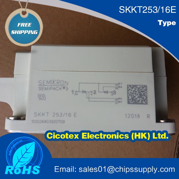 SKKT253/16E IGBT MODULESKKT253/16E IGBT MODULE