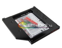 for Apple Macbook Pro 2011 MC721LL/A A1286 15″ 2nd SSD HDD Caddy SATA3 Second Solid State Hard Disk DVD CD Optical Drive Bay