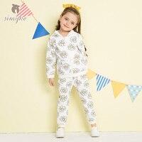 Simyke Children S Sets For Girl 2018New Spring 2pcs Set Jacket Sport Trousers Toddler Girl Set