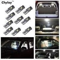 10 Stücke T10 3SMD 3030 Led-lampe W5W 194 168 Auto Interior Parkplatz Licht Lichtkuppel kennzeichenleuchte 6000 karat weiß