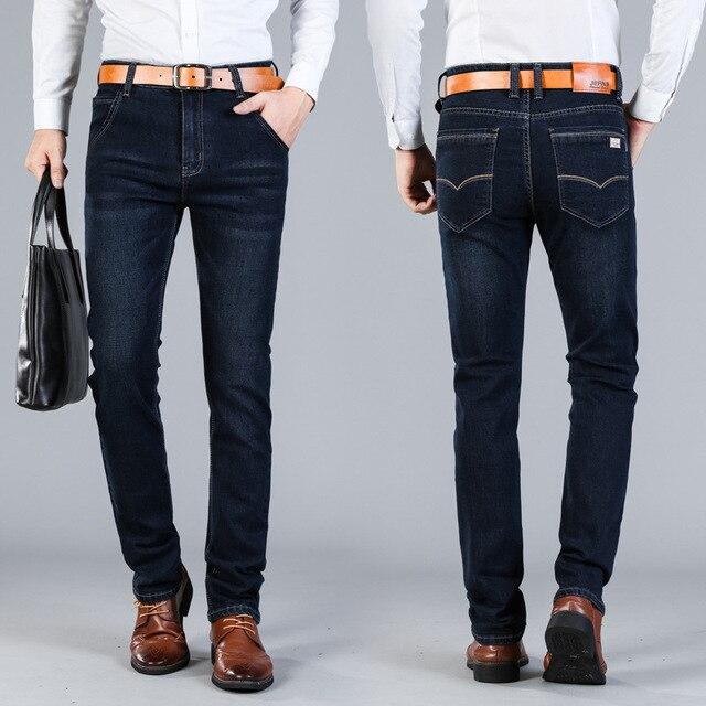 fashion Designer Jeans Winter Mens Jeans Brand Jean Slim Homme Plus Size Pants Denim Casual Jean Men Pants