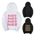 Eu Me Sinto Como Paul Kanye West A Vida De Pablo Pablo Temporada 3 Hoodies Hip Hop Streetwear Kanye Bombardeiro MA1 Casaco Com Capuz Da Camisola