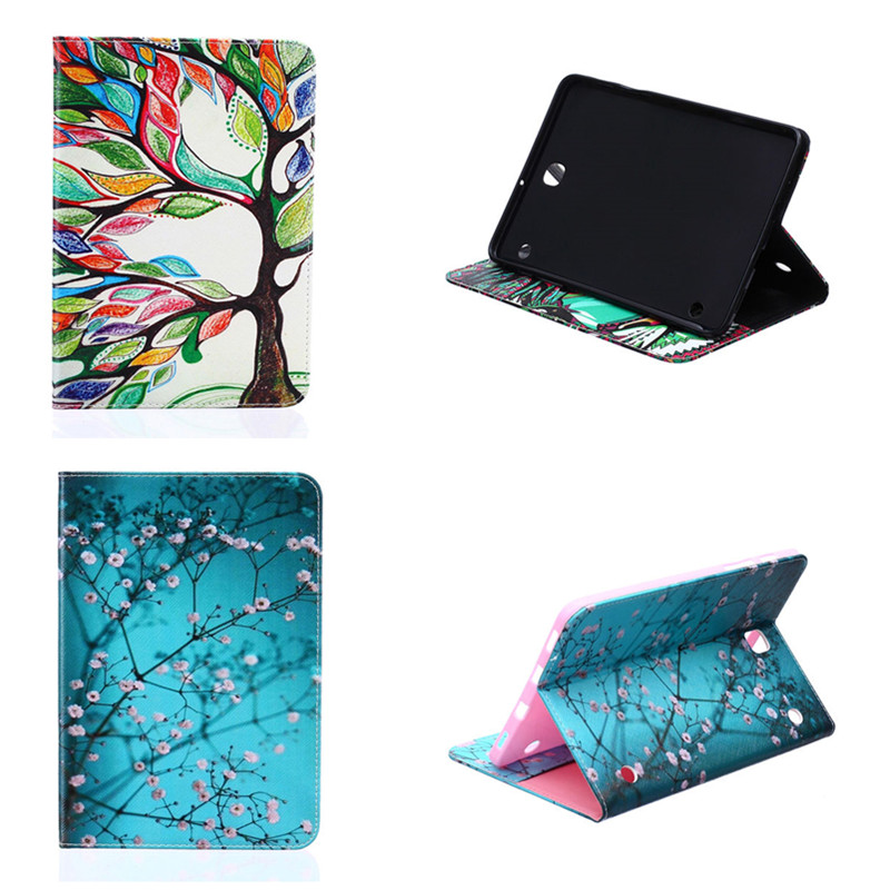 BF T713 T719C Case Shell Fashion Design Pattern Stand Cover for Samsung Galaxy Tab S2 8.0 inch Tablet SM-T710 SM-T715 T715C