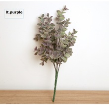 K15148 Wholesale Simulation Eucalyptus leaves Flower Plant arranging Wedding Artificial Valentines Day Decorative