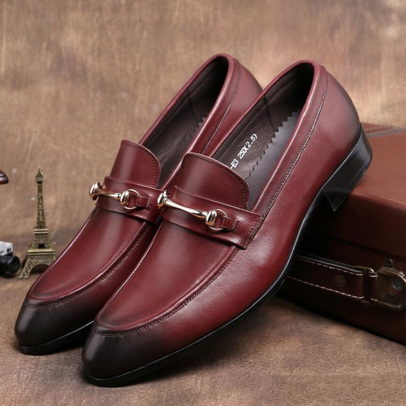 10a2c87d61 vermelho Preto Mycoron Trabalho Homens Luxo Sapatos Vestido Schuhe De  Escritório Herren Botas Do Até Dos Casamento Formal Rendas Marca Homem Couro  ...