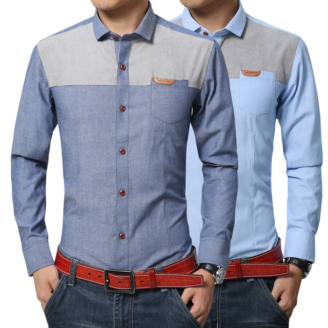 Buy partchwork full sleeve 5xl summer for New look mens shirts