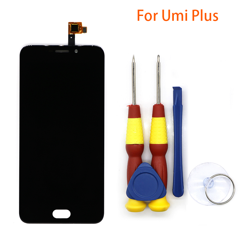 New original Touch Screen LCD Display LCD Screen For UMIdigi plus/plus e Replacement Parts + Disassemble Tool+3M AdhesiveNew original Touch Screen LCD Display LCD Screen For UMIdigi plus/plus e Replacement Parts + Disassemble Tool+3M Adhesive