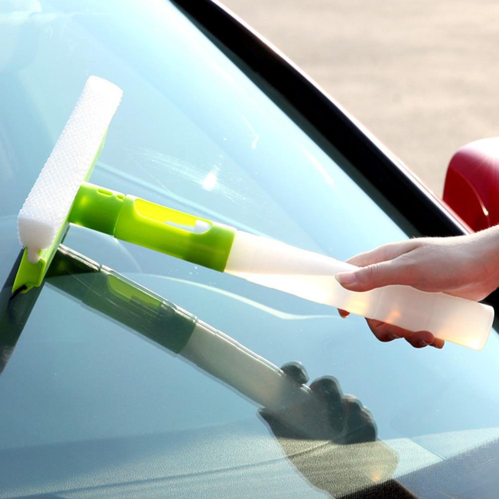 1 PCS Magic Spray Type Brushes Cleaner Car Window Cleaning Airbrush Glass Wiper Brush #25
