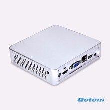 Очень дешевые Нового компьютерного оборудования 1037U 1.8 Г Dual core x86 промышленный компьютер 1080 P Q100N-S03
