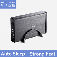 ACASIS BA 06US USB 3.0 SATA Interface 3.5 inch Hard Drive Box HDD Enclosure Mobile hard disk Box Support 4TB Fully compatible