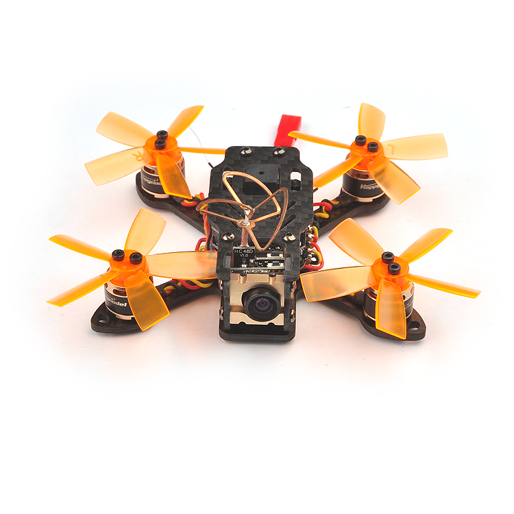 Toad 90 Micro Brushless FPV Racing Drone F3 DSHOT BNF Flight Controller with Frsky / Flysky RX Receiver Battery Racer Aircraft jmt bat 100 100mm carbon fiber diy fpv micro brushless racing helicopter drone bnf with frsky flysky dsm x wfly rx receiver