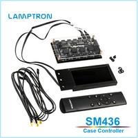 Lamptron SM436 PCI Case Controller,fan /pwm speed fan /Light strip controller LCD screen displayer,RGB/ARGB led light controller