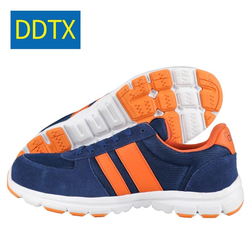 Lumière Confortables Air Protection Bottes Respirant Hommes Acier Baskets Suédé De Chaussures Cuir Sécurité En Travail Ddtx Plein Blue 4RAc5j3Lq