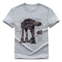 Star Wars DIY Pure Cotton Round Collar Men S Short Sleeve T Shirt 010 Darth Vader