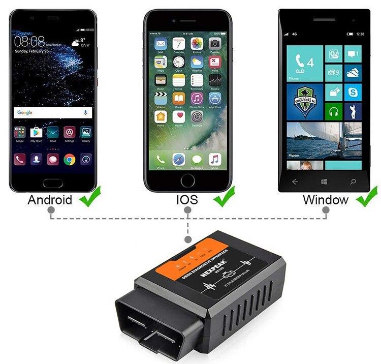 Universal OBD2 ELM327 V 1.5 Scanner Auto OBDII Scan Tool OBD 2 ODB II ELM 327 V1.5 Bluetooth ODB2 Diagnostic Tool Auto scanner