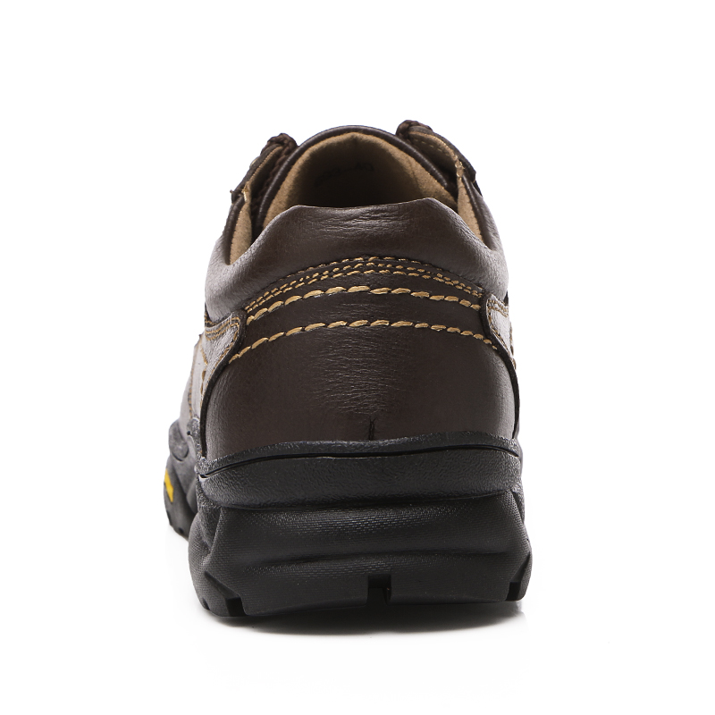Cuir K3 Voyage Doux Dark Air Brown Chaussures Formation Antidérapant Sport Plein Hommes Brown Top Sneakers En Confortable Conduite light Haute De Marche Véritable lT3c1Ju5FK