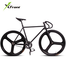 Original X-Front brand fixie Bicycle Fixed gear 46cm 52cm DIY Three cutter one wheel speed road bike fixie bicicleta