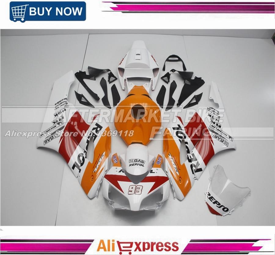 NEW-2013-REPSOL CBR1000RR 2004 2005 мотоцикл части кузова для Honda роспись лобового стекла автомобиля
