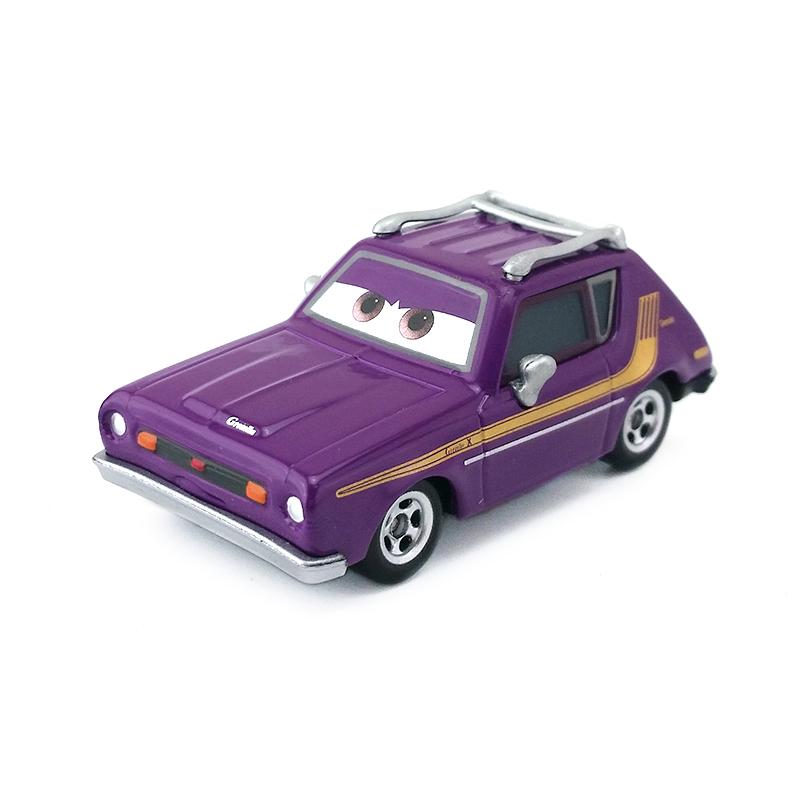 Disney Pixar Cars & Cars 2 Bad Fellows Metal Toy Car 1:55 Diecast Model Gift Toys & Games