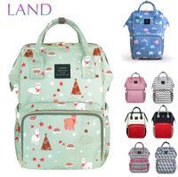 b516f6477c882 LAND Nappy Bag 2018 Baby Bags Large Diaper Bag Backpack Organizer Maternity  Bags For Mother Handbag. LAND Windel Tasche 2018 Baby Taschen Große ...