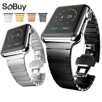 IDG High End Bracelet 316L Stainless Steel Band For Apple Watch 42mm 38mm Iwatch Strap Series