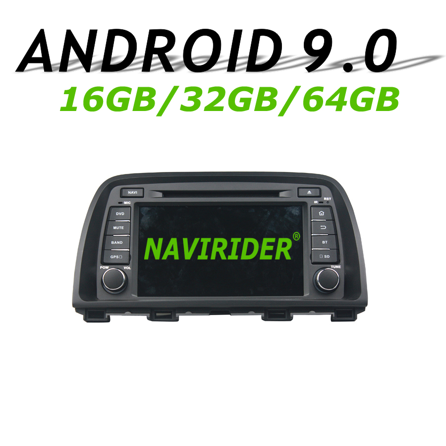 Navirider CX-5 de navegação GPS Para MAZDA 2013 2014 Carro da tela de toque android 9.0 8 CX5-Core 64 gb rom rádio bluetooth stereo jogador