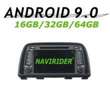 Navirider gps навигации для MAZDA CX-5 2013 2014 CX5 сенсорный экран автомобиля android 9,0 8-ядро 64 Гб ПЗУ радио-проигрыватель вluetooth стерео
