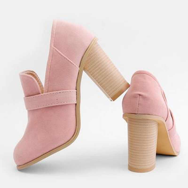SHUJIN kadın çizme sandalet 2019 üzerinde kayma akın bileğe kadar bot bahar bayan botları bayanlar parti batı streç kumaş botları Dropship